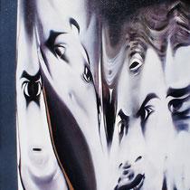 Luciano Lupoletti, Grande fratello, 2010, olio su tela, 50x40 cm