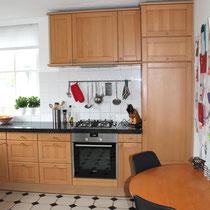 De keuken voor de restyling