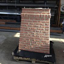 03 schoorsteen aluminium   Composiet steenstrips en platte schoorsteenkap Rijpma siersmederij
