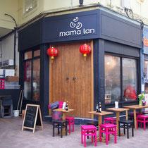 mama lan チャイニーズヌードル店
