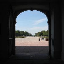 Eingang zum Garten des Schwetzinger Schlosses