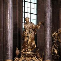 The patron saint of the cathedral - St. Peter
