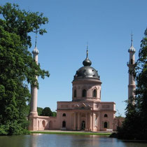 Moschee im Garten des Schwetzinger Schlosses