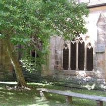 Meditationsgarten im Kloster Maulbronn