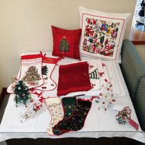 一足早くクリスマス商品も並んでいます