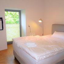 Wohnbeispiel Schlafzimmer eines Messehauses zur Agritechnica über 4yourfairs