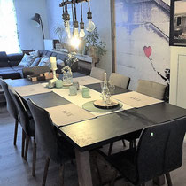 Dining area of a private house mediated by 4yourfairs.