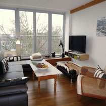 Living area of a private apartment mediated by 4yourfairs.