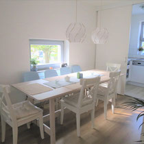 Dining area of a private apartment mediated by 4yourfairs.