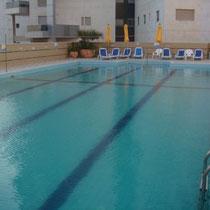 Grande piscine surveillée