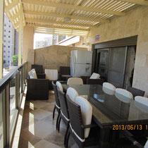 Terrace with pergola