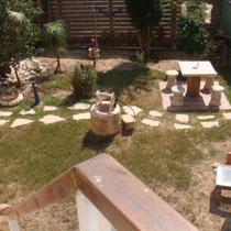 Beau et grand jardin