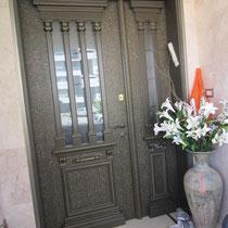 Belle porte d'entrée