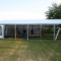 Schönes Zelt!