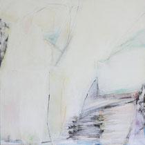 Lichträume II, 70 x 70 cm