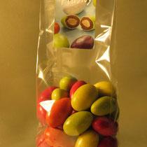 """Bonbons de chocolat """"Les Flashy"""" : Amandes grillées enrobées de chocolat d'origine Gianduja"""