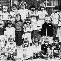 Klassenfoto klas1 1981 - 1982