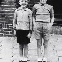 Terziepe  Wiel Derks (L) & Jan Kersten 1952