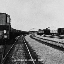 Spoorbanen richting Sittard