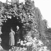 In de tuin van huize De Wever