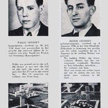 Ook in Indië vielen slachtoffers, zoals hier twee broers uit de Nuthse familie Gelissen, die kort na elkaar sneuvelden