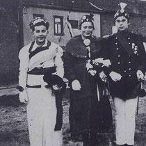 Bij gelegenheid van het huwelijk van, Prinses Juliana en Prins Bernhard in 1937