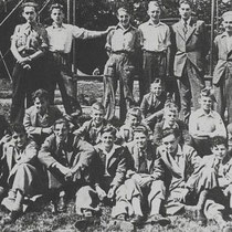 Jong Nederland in 1951 uitstapje naar Valkenburg