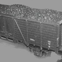 Na de introductie van de Westinghouse luchtdruk rem, zijn de huisjes op de wagons gebleven. Deze huisjes hadden geen enkele functie meer. Daarom reden deze wagons in een volslagen willekeurige volgorde in de trein.
