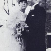 Huwelijk Dinie Rasenberg - Frans Drissen  Met dank aan Wiel Derks