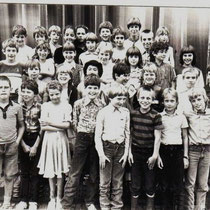 Klassenfoto 1981 - 1982