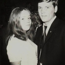 Grietus Evers met zijn verloofde José, bij Dancing Driessen