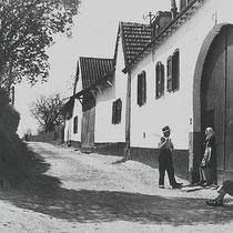 Brand 1938 panden vlnr Snackers, Rouschop en Collaris