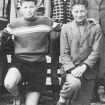 links Jo Wasserman rechts Frans Leise
