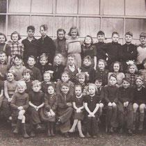 Klassenfoto 1950 - 1951