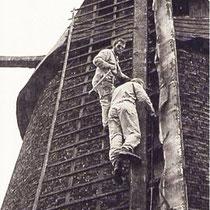 De wieken werden gestroomlijnd, waarbij onder meer de roeden werden vervangen, en weer werden voorzien van Oudhollands tuig