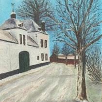Nierhoven  Olieverf op linnen 30x40 1984 Schra Rijkx