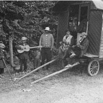 zigeuners aan de Geiteweg