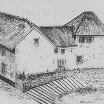 KERKSTRAAT Kosterhuis en boerderij