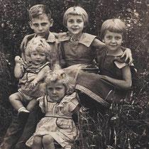 Kinderen de Rooij  Met dank aan Marij de Rooij
