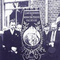 Katholieke Mijnwerkersbond afd. Vaesrade.  met o.a Math Boels, Gerard Lindelauf, Zef Curfs en Math Heuijerjans