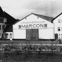 """Huize de Tienschuur naast de Tiendschuur met Marcon als """"bewoner"""""""