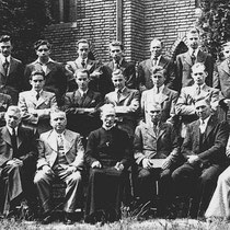 Het kerkkoor in 1946