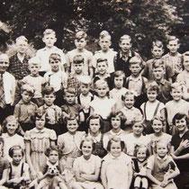 Klassenfoto 1951 - 1952