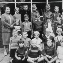 Klassenfoto 1e 2e 3e klas 1961 - 1962
