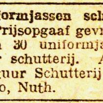 Op 4 augustus gaan ze nog gezamelijk naar het schuttersfeest in Vaesrade, maar een week later kiezen de schutters uit Terziepe een nieuw bestuur. Zij krijgen de trom en geweren, en de de vogel en vlag blijven bij de schutters uit Hunnecum