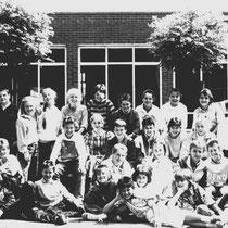 Klassenfoto klas 6 1985 - 1986