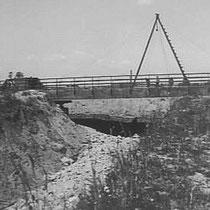 Aanleg van een brug