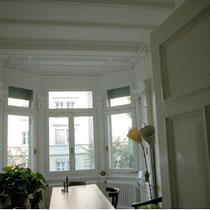 Erkerzimmer fertig renoviert