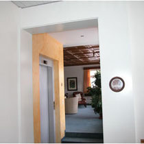 Hotel Jakobsbad, Raumgestaltung Liftbereich