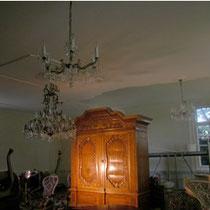 Saal fertig renoviert, Villa in Göttighofen